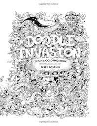 Zifflins Coloring Book Doodle Invasion Zifflin S