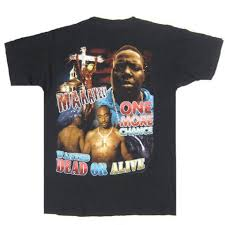 Vintage Notorious BIG Tupac Shakur T Shirt