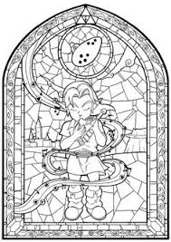 Zelda Wind Breaker Big Leaf Drawing