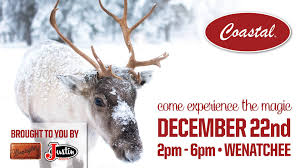 100 Coastal Wenatchee Visit Santas Reindeer At Your Country