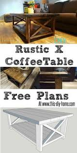 13 easy diy coffee tables you can actually build yourself rustic