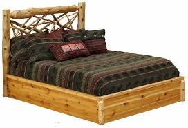 Image Of Twig Rustic Platform Bed