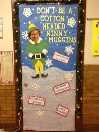 Classroom Door Christmas Decorations Ideas by Christmas Classroom Door Decorations Google Search Elf On The