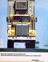100 Kenworth Truck Company 1973 Ad Vintage Trucks S