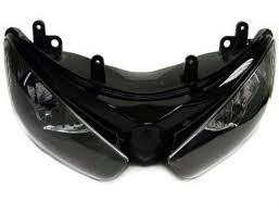 Head Lamp by Black Headlight Head Lamp Assembly For 2005 2006 Kawasaki Zx6r Zx