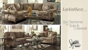 Ashley Larkinhurst Sofa And Loveseat by Wilson Furniture Bridgeport Oh