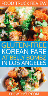 Korean Fare At Belly Bombz Kitchen, In Los Angeles | Food Blogger ... Universal Food Trucks For Thursday 52517 Belly Bombz Los Angeles Roaming Hunger Catering Bombz Wings And Fries 1440x1626 Foodporn In The Kitchen Back To Belly Bombz Thc Design 8p Piece Boneless Moms Special Wings Bomb Dust Fries Slaw Yelp My Whittier Blog Is Back Ktown Night Market 2018 The Sandwich Slayer Moms Recipe Chicken Bellybombz Truck We Heard You Loud Hash Tags Deskgram