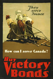 This Canadian Poster For Victory Bonds From 1918 Takes Its Source Image A Photo By Brown Bros