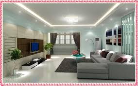 Best Colors For Living Room 2016 by Living Room With Wall Paintings And A Contrast Color Scheme In