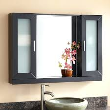 lighted medicine cabinet with outlet cabinets sidelights led