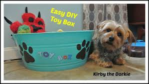 easy diy toy box u2014 the canine chef cookbook