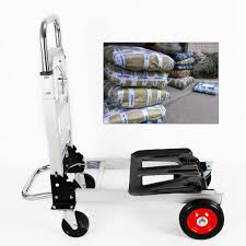 2in1 Warehouse Push Hand Truck Convertible Folding Dolly Platform ...