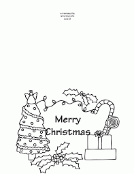 Printable Colouring Xmas Cards Christmas Greeting Pages