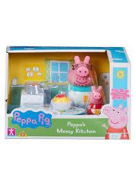 peppa pig kitchen shopping set assorted