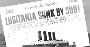 When Did Germany Sink The Lusitania by Wwi Anniversary America In World War I In 1 Minute Time