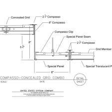 usg design studio specialty ceilings grid assembly download