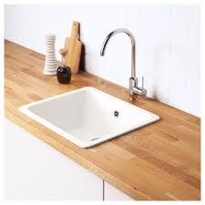 Ikea Domsjo Sink Single by Domsjö Inset Sink 1 Bowl Ikea