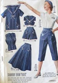 1953 Playclothes Were The One Clothing Style That Kept Nautical Look Alive In