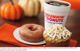 Dunkin Pumpkin Spice by Dunkin U0027 Donuts Rolls Out Seasonal Flavors Check Out New Pumpkin