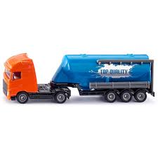 100 Toy Truck And Trailer Volvo FH16 With Silo Siku S Games Bricks