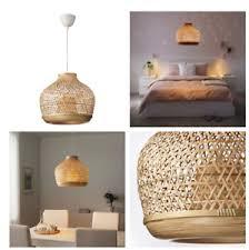 details about ikea misterhult hängeleuchte bambus weiches licht deckenleuchte le neu a