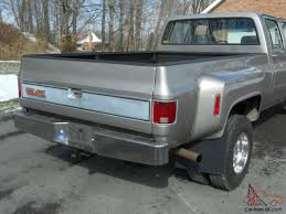 RESTORED 1985 GMC 4x4 4 Door Dully Four Wheel Drive Full Size 1 Ton ...