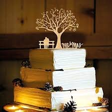 Wedding Cake Toppings Custom Toppers Personalized Name Topper S Wood