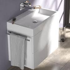 treos badmöbel waschtisch mit unterschrank tr 911050702
