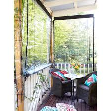 Patio Curtains Outdoor Plastic by Outdoor Blinds U0026 Shades Including Retractable Roll Up Blinds