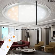 ladenmobiliar deko 24 watt led sternen himmel tageslicht