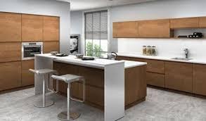cuisine bois massif contemporaine nos façades pour cuisines intégrées et équipées salles de bain