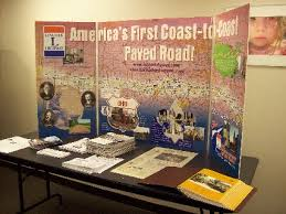One Of Three Similar Display Boards Authorized In 2008 For The Benefit Ohio Lincoln Highway League And Its Related Organizations