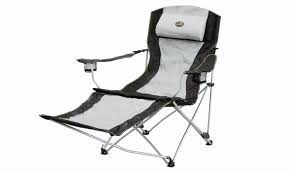 Beach Chair With Footrest And Canopy by 16 Reclining Folding Camp Chair With Footrest Wholesaler