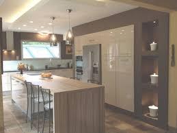cuisine am駻icaine avec ilot central cuisine ouverte avec ilot top cuisine pertaining to cuisine