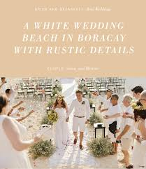 Can You Guess The Dress Code Thats Right White Still Have Doubts About This Color Then Better Check Out Wedding And See How Everything Came