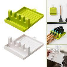 silikon küche kochlöffel deckelhalter topfdeckelhalter