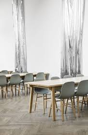 100 Projects Contemporary Furniture Slice Table And Form Chairs Is A Perfect Combo Commercial