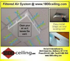 Drop Ceiling Vent Deflector by How To U0027s Ceiling Help How To Guide Ceiling Help