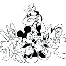 Free Walt Disney World Coloring Pages Archives Inside