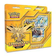 Pokemon Deck List Standard by Legendary Battle Deck Zapdos Pokémon Trading Card Game