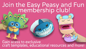 Become A Member Of Easy Peasy And Fun Membership Gain Access To Our Exclusive Craft Templates Educational Printables With Brand New Resources Added