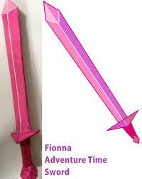 Fionna Adventure Time Sword Main