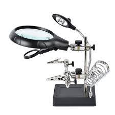 Lighted Magnifier Desk Lamp by Amazon Com Dandelion 2 5x 7 5x 10x Led Light Magnifier U0026 Desk
