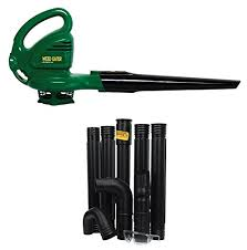 Weed Eater WEB160 Compact 75 Amp Electric Blower W Gutter Cleaning Attachment Kit
