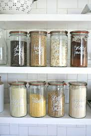 Contemporary Kitchen Storage Jars Jar Canisters Sets Metal Decoration Ideas