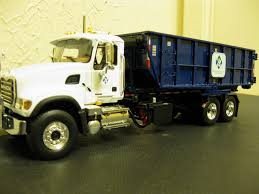 First Gear Waste Connections Roll-off Trash Truck. - A Photo On ...