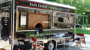100 Mobile Pizza Truck Our Kitchen Papa Franks LLC
