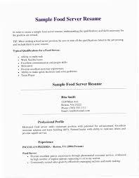 Server Resume Samples B61G Elegant Soft Skills Examples For Of Resumes