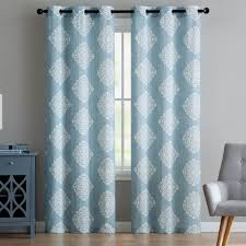Teal Blackout Curtains Target by Curtains Blue And White Curtains Target Wonderful Teal Grommet