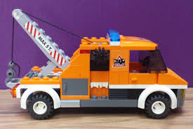 Lego City Tow Truck 7638 100 Complete With Minifigure Instructions ...